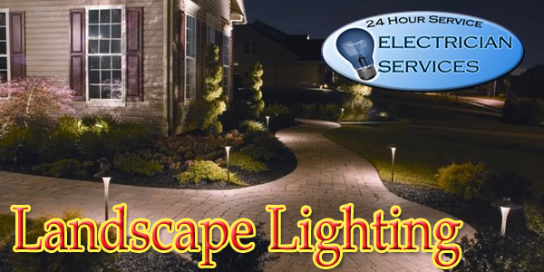 We install all types of Landscape lighting