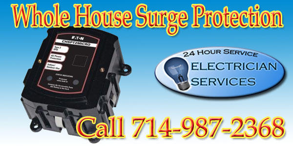 Install Whole House Surge Protection in the Main Electrical Panel