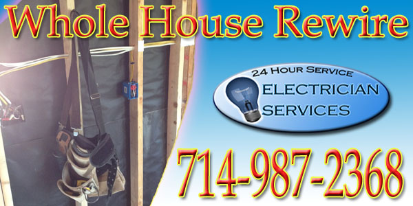 We can Rewire your home