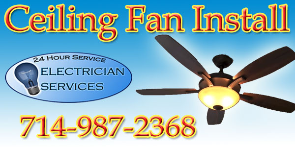 We install any ceiling fan you have