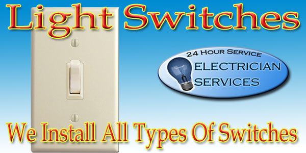 There are different switches that have different applications