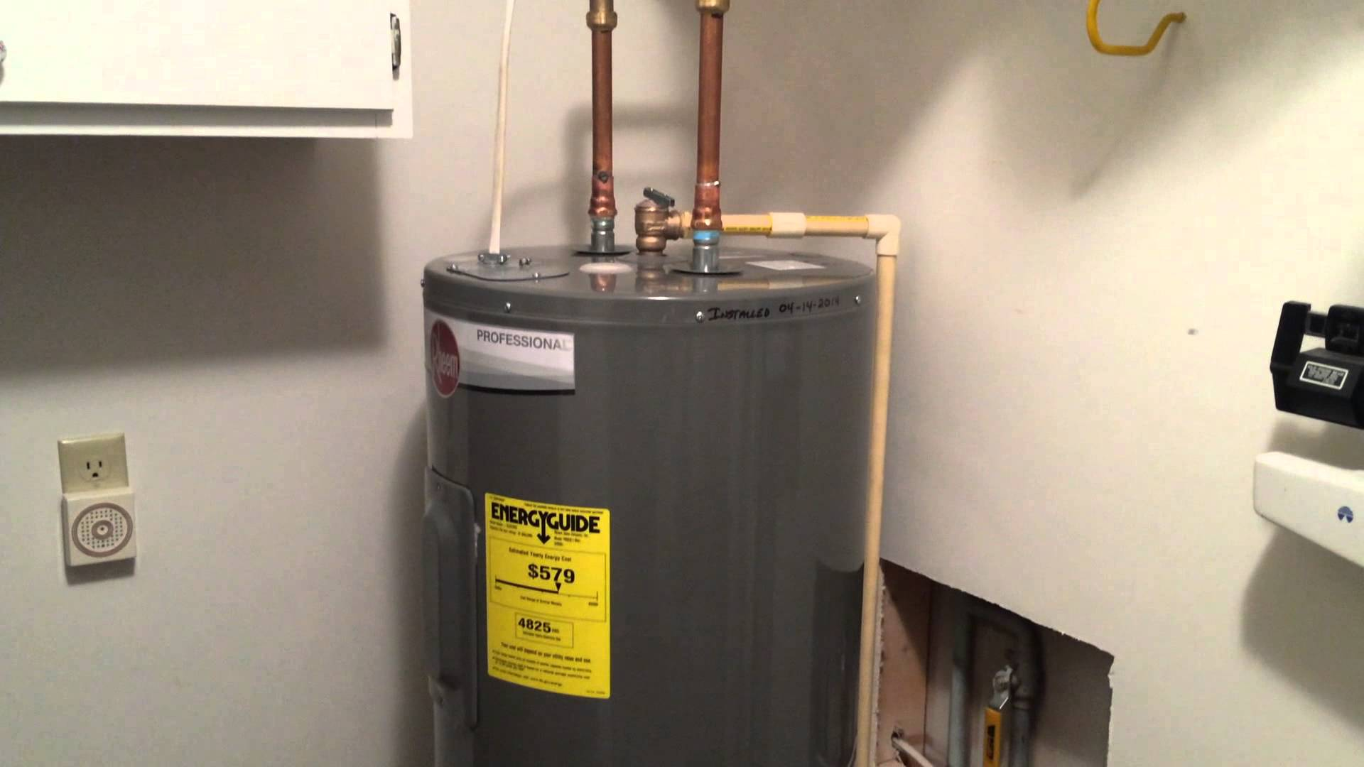 Water Heaters Electrician Services